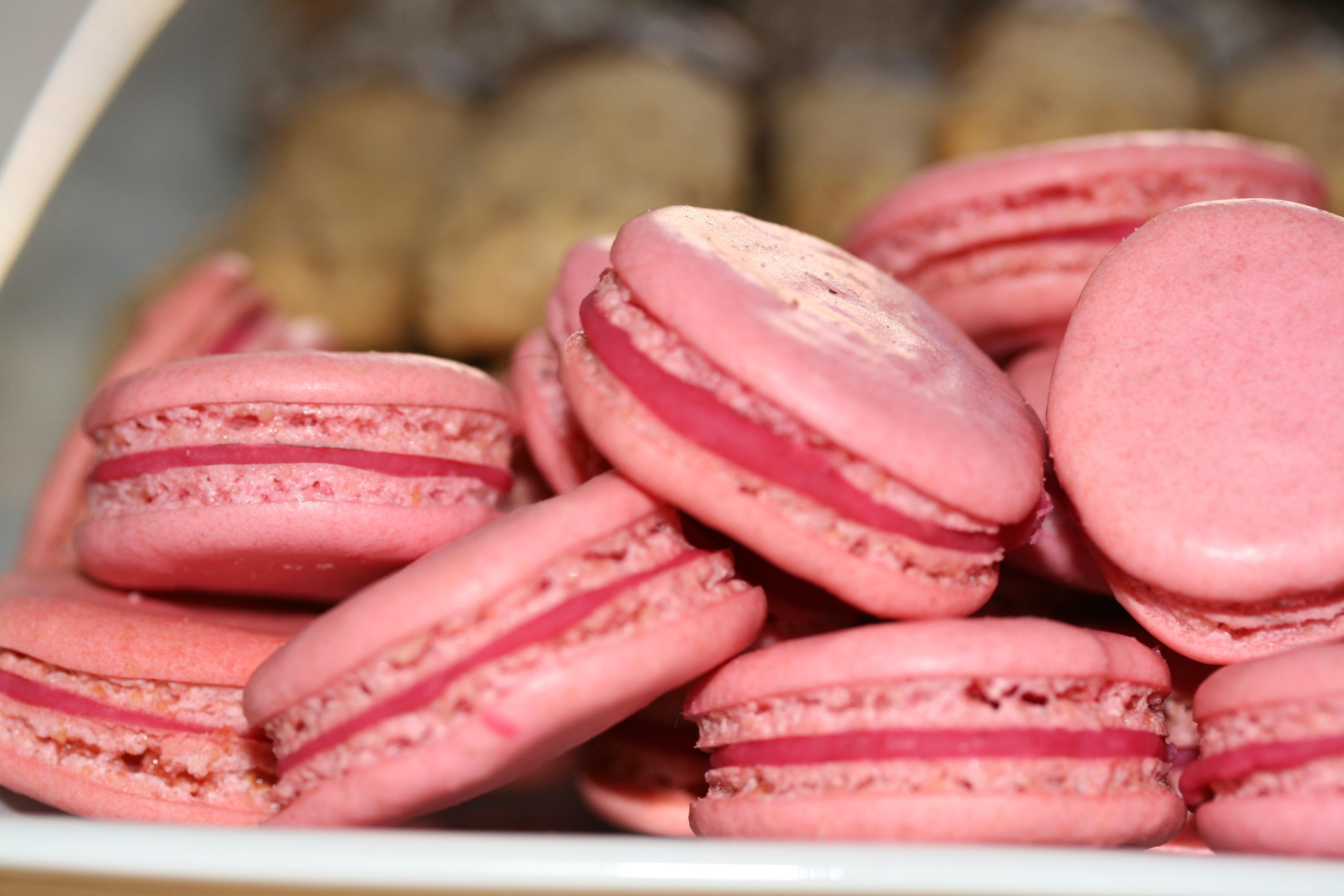 Dessa är färgade rosa och har en smak av hallon. Det var många som gillade  dem c37f0ba06678f